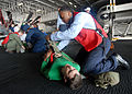 Mass casualty drill aboard USS George Washington DVIDS123861.jpg