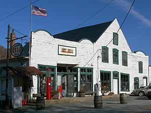 Valle Crucis, North Carolina - The Mast General Store in Valle Crucis.