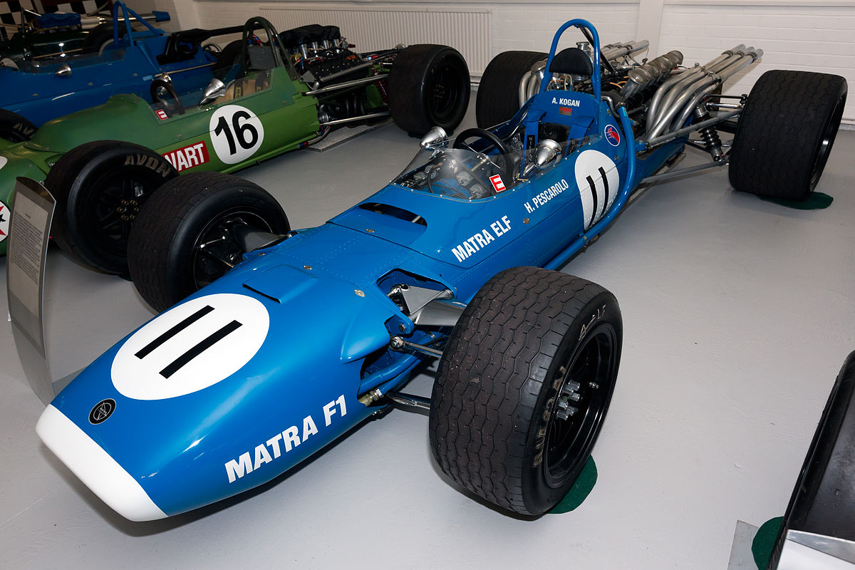 Px Matra Ms Front Left Donington Grand Prix Collection