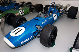 Matra MS11 front-left Donington Grand Prix Collection.jpg