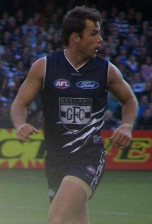 Matthew Egan - Matt Egan playing for Geelong.