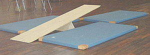 Agility - Material to exercise the balance agility for children