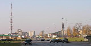 Mažeikiai City in Samogitia, Lithuania