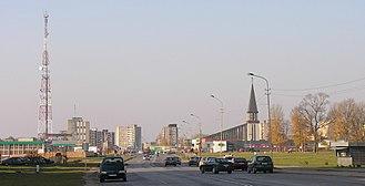 Mažeikiai - Image: Mazeikiai panorama resize