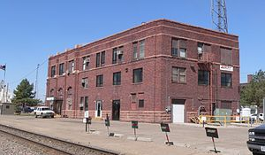 McCook, Nebraska RR station from SE.JPG