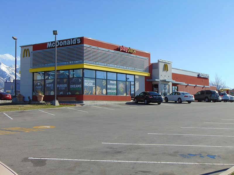 File:McDonald's restaurant in Spanish Fork, Utah, Mar 16.jpg