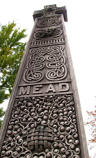 Old Gray Cemetery - Frank S. Mead monument