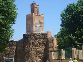 Les remparts et la mosquée d'El Mechouar