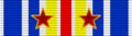 Medaille (Insigne) des Blesses Militaires ribbon avec deux blessures.png