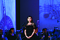Mehriban Aliyeva in openning ceremony International World of Mugam Festival.jpg