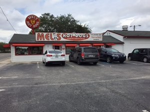 Hillsborough Army Air Field - Mel's Hot Dogs is the last surviving structure of the Hillsborough Army Air Field in Tampa, Florida