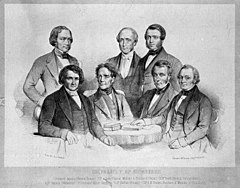 Members of the medical faculty at Edinburgh University, gath Wellcome M0010552.jpg