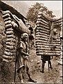 Men Laden With Tea, Sichuan Sheng, China 1908 Ernest H. Wilson RESTORED.jpg