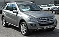 Mercedes ML 350 CDI 4MATIC (W164) Facelift front 20100402.jpg