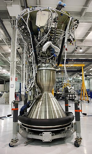 Merlin (rocket engine family) - Merlin 1C Vacuum engine at Hawthorne factory in 2008