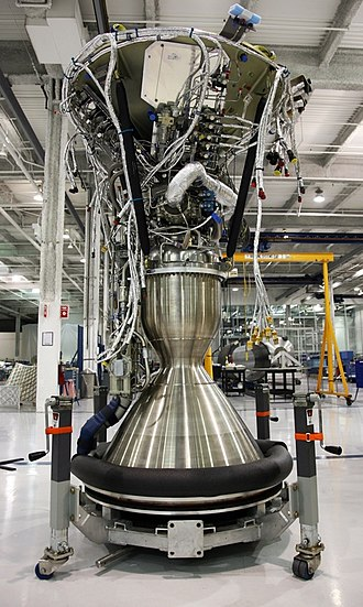 Merlin (rocket engine family) - Merlin 1C Vacuum engine at Hawthorne factory in 2008