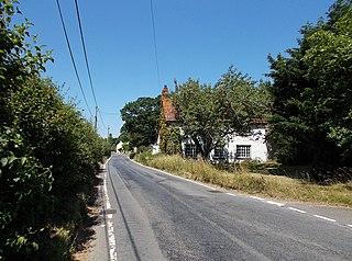 Merstone Human settlement in England
