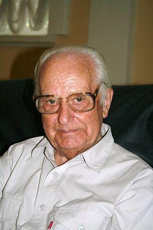 English: Professor Merzhanov at Moscow Conserv...