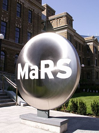 MaRS Discovery District - Image: Metallic Ma RS
