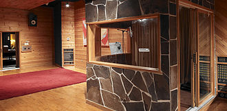 Metalworks Studios - Metalworks Studio 1 Tracking Room Floor and Isolation Booth.