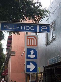 Metro Allende Mexico City metro station