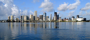 Die Skyline von Miami