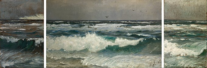 Michael Ancher - Breakers on the coast - Google Art Project.jpg