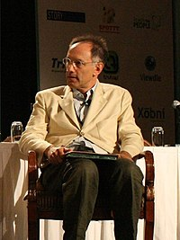 Moritz at TechCrunch40, September 2007