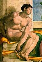 Michelangelo, ignudo 10b.jpg
