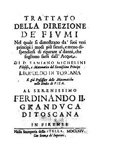 Michelini, Famiano – Trattato della direzione de' fiumi, 1664 - BEIC 1397720.jpg