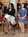 Michelle Obama and Finnish First Lady Jenni Haukio.jpg
