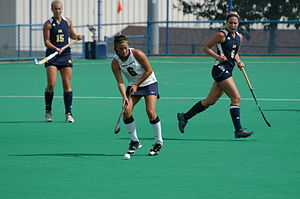 Penn State Nittany Lions field hockey - The 2010 Penn State field hockey team in action against Michigan