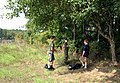 Middle school students lend a hand for Russell Lake Clean-up Campaign (10019352526).jpg