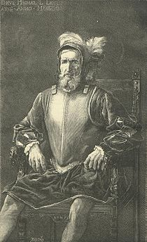 Miguel López de Legazpi, en La Hormiga de Oro.jpg