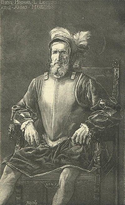 Retrato de Miguel López de Legazpi