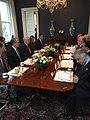 Mike Pence welcomes Haider al-Abadi at 1OC 2017 (1).jpg