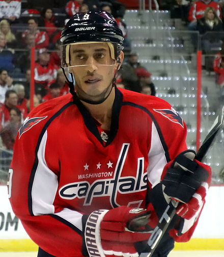 Ribeiro with the Capitals in 2013 Mike Ribeiro 2013-02-03.JPG