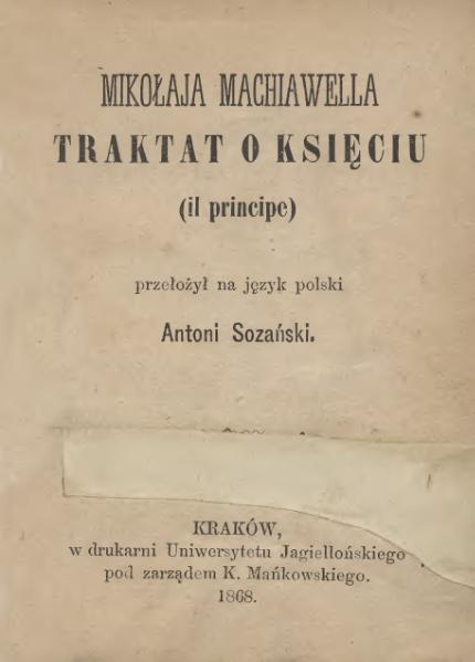 File:Mikolaja Machiawella Traktat o Ksieciu.djvu