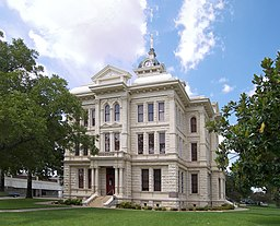 Milam County Courthouse i Cameron.