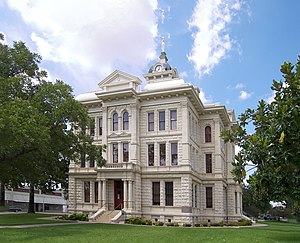Milam County, Texas - Image: Milam county courthouse