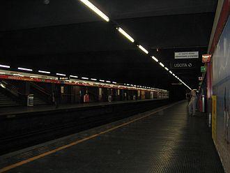 Amendola (Milan Metro) - Image: Milan Subway Amendola