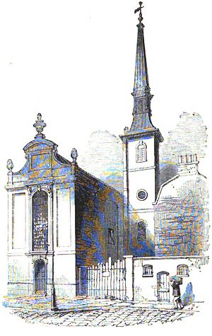 St Mildred, Bread Street - Image: Mildred bread godwin