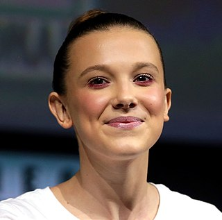Millie Bobby Brown British actress