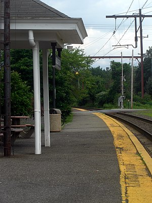 Long Hill Township, New Jersey - Millington station, one of three train stations in Long Hill Township.