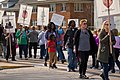 Milwaukee Public School Teachers and Supporters Picket Outside Milwaukee Public Schools Adminstration Building Milwaukee Wisconsin 4-24-18 1009 (41015513394).jpg