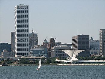 English: Milwaukee Skyline Source: http://www....