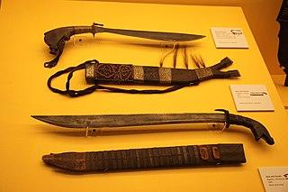 large cutting tool of Filipino origin