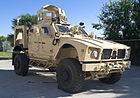 Mine resistant ambush protected ATV