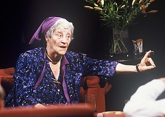 Miriam Rothschild - Appearing on television programme After Dark in 1988