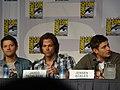 Misha Collins, Jared Padalecki & Jensen Ackles (4852393816).jpg